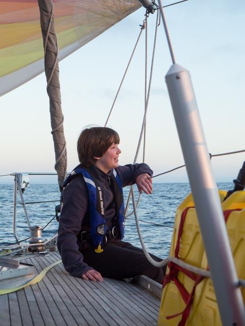 Devon Sailing down Baja